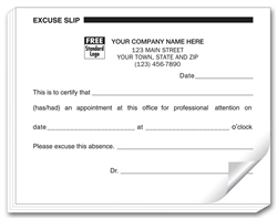 ... Photos - Printable Excuse Forms Print Fake Doctors Note Free Download