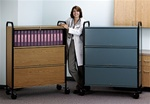 HIPAA Ring Binder Cart