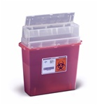 5 Quart  Wall Mount Sharps Container