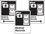 Medical Records Sign