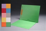 Color 11pt Reinforced 2-Ply Color End Tab Full Pocket Folder