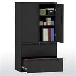 Storage Cabinet with Lateral File