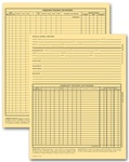 Vet Animal Exam Records, Without Account Record, Card File
