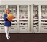 ACS Med-Dual Side Locking Cabinet