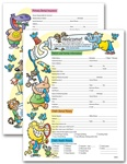 Pediatric Dental Registration & History Form