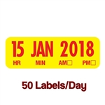 Day Date Labels