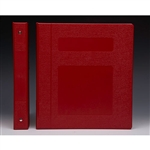 "1"" Binder Color is ""Red"""""