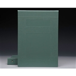 "1"" Binder Color is ""Seafoam"""