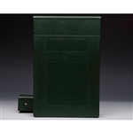 "2"" Binder Color is ""Hunter Green"""