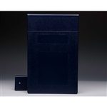 "3"" Binder Color is ""Navy Blue"""