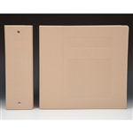 "4"" Binder Color is ""Beige"""