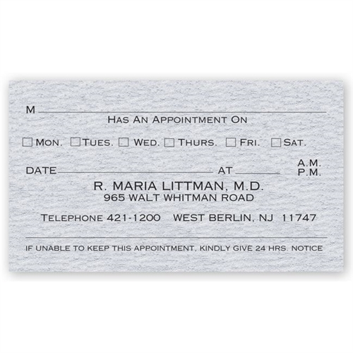 view larger photo email - Appointment Cards