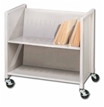 Medical Cart, Two-Slant Shelf