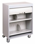 HIPAA Compliant Locking Cart
