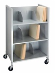 Three Tier File Folder Cart