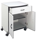 Wood Laser Printer/Copier Stand w/Drawer