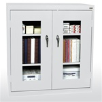 "36"" W x 18"" D x 42"" H Clear View Storage Cabinets"