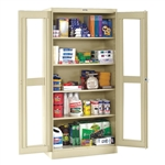 "36"" W x 18"" D x 78"" H Clear View Storage Cabinets"