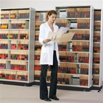 ACS Lateral Track Movable Shelving Systems