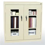 "46"" W x 24"" D Clear View Storage Cabinets"