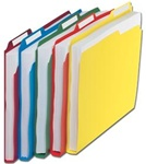 Tab Top Poly File Folders