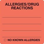 ALLERGY LABEL