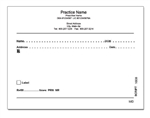 Tamper Proof Prescription Pads