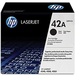 HP Genuine OEM 42A Black Toner Cartridge / 10,000  Black