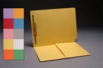 Color  11 pt Reinforced 2-Ply End Tab Half Pocket Folders