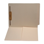 Manila  11 pt Reinforced 2-Ply End Tab Half Pocket Folders