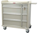 Punch Card Cart Capacity of 600 Cards